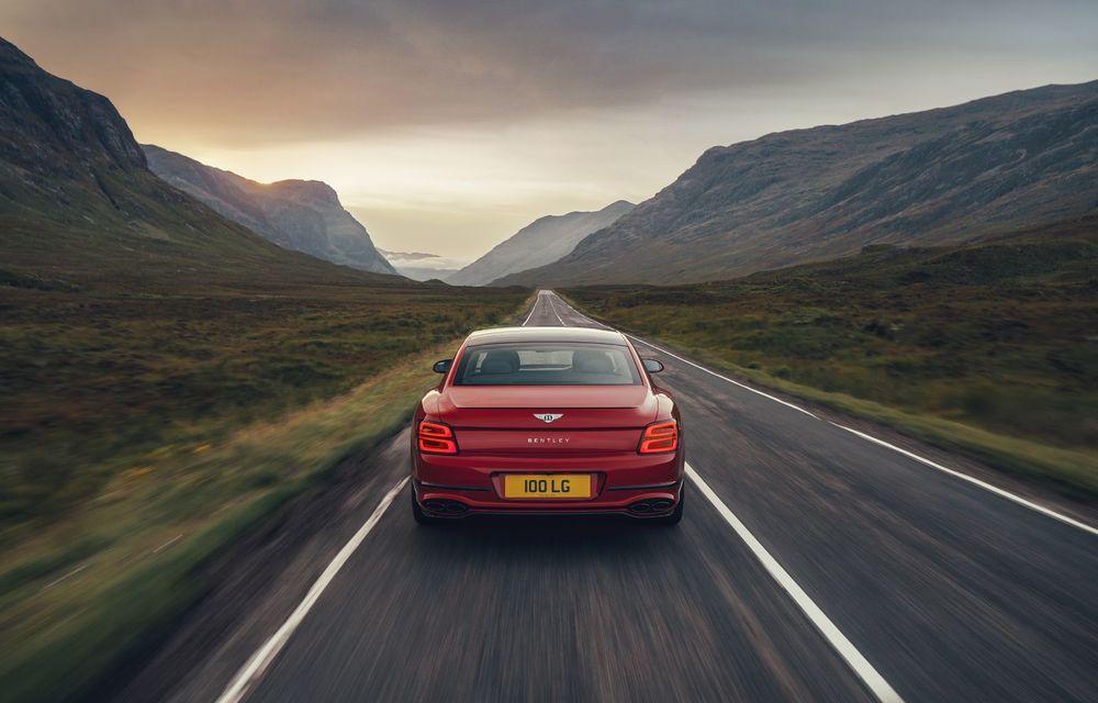 Motorizare nouă pentru Bentley Flying Spur: V8 de 4.0 litri cu 550 de cai putere și 770 Nm - Poza 6