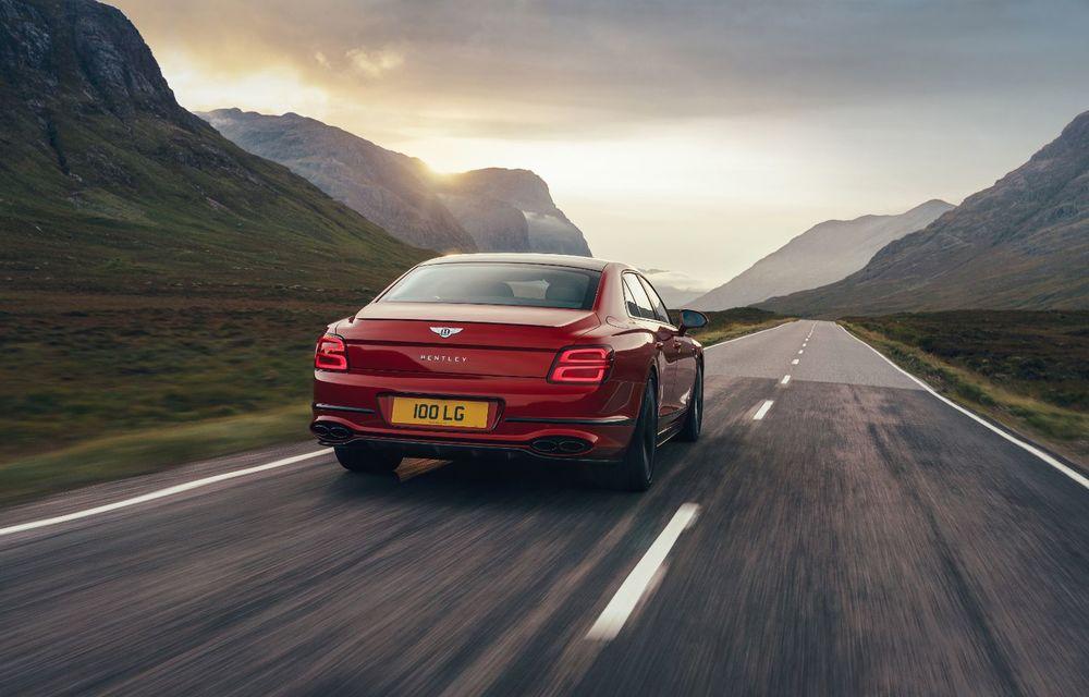 Motorizare nouă pentru Bentley Flying Spur: V8 de 4.0 litri cu 550 de cai putere și 770 Nm - Poza 3