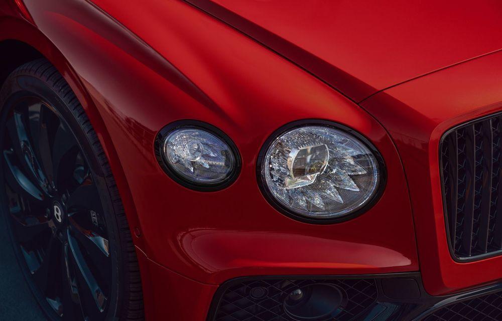 Motorizare nouă pentru Bentley Flying Spur: V8 de 4.0 litri cu 550 de cai putere și 770 Nm - Poza 10