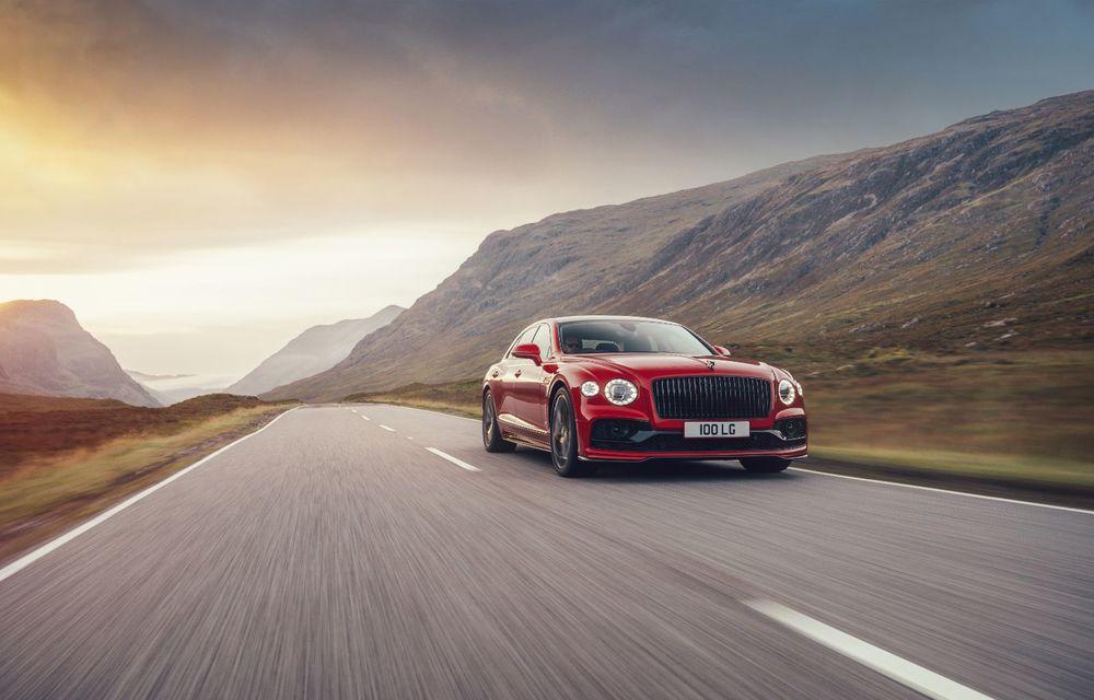 Motorizare nouă pentru Bentley Flying Spur: V8 de 4.0 litri cu 550 de cai putere și 770 Nm - Poza 2