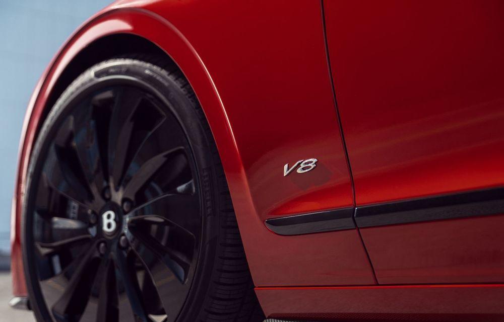 Motorizare nouă pentru Bentley Flying Spur: V8 de 4.0 litri cu 550 de cai putere și 770 Nm - Poza 12