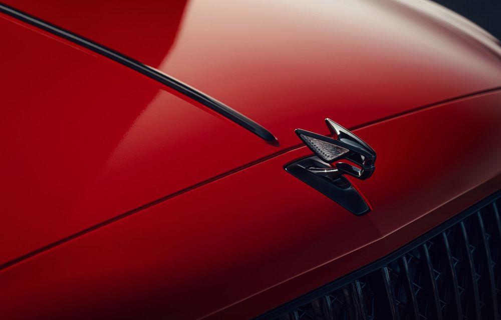 Motorizare nouă pentru Bentley Flying Spur: V8 de 4.0 litri cu 550 de cai putere și 770 Nm - Poza 13