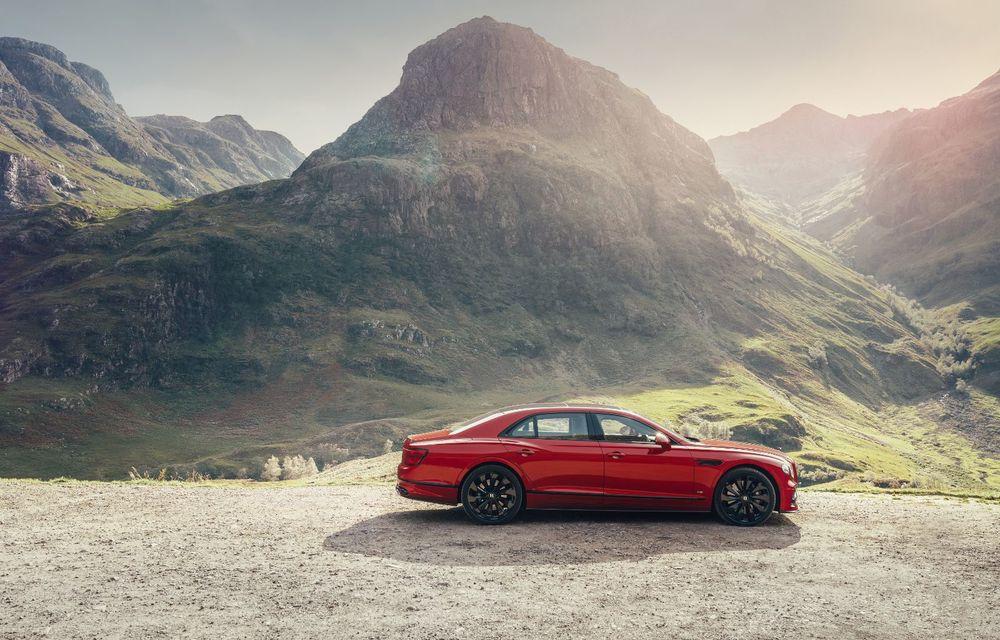 Motorizare nouă pentru Bentley Flying Spur: V8 de 4.0 litri cu 550 de cai putere și 770 Nm - Poza 7