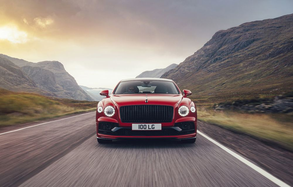 Motorizare nouă pentru Bentley Flying Spur: V8 de 4.0 litri cu 550 de cai putere și 770 Nm - Poza 5