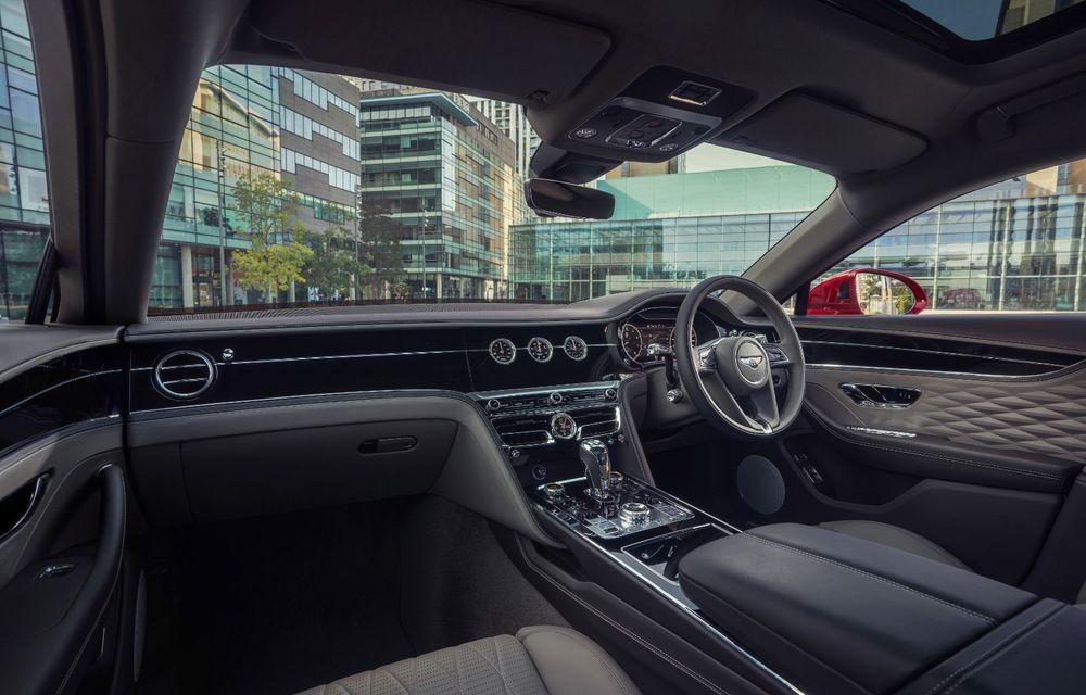 Motorizare nouă pentru Bentley Flying Spur: V8 de 4.0 litri cu 550 de cai putere și 770 Nm - Poza 15