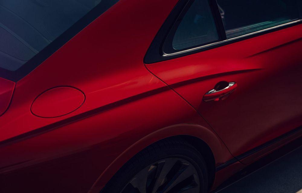 Motorizare nouă pentru Bentley Flying Spur: V8 de 4.0 litri cu 550 de cai putere și 770 Nm - Poza 14