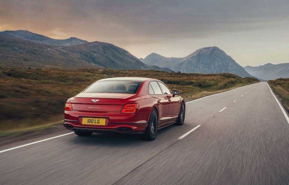 Motorizare nouă pentru Bentley Flying Spur: V8 de 4.0 litri cu 550 de cai putere și 770 Nm - Poza 4