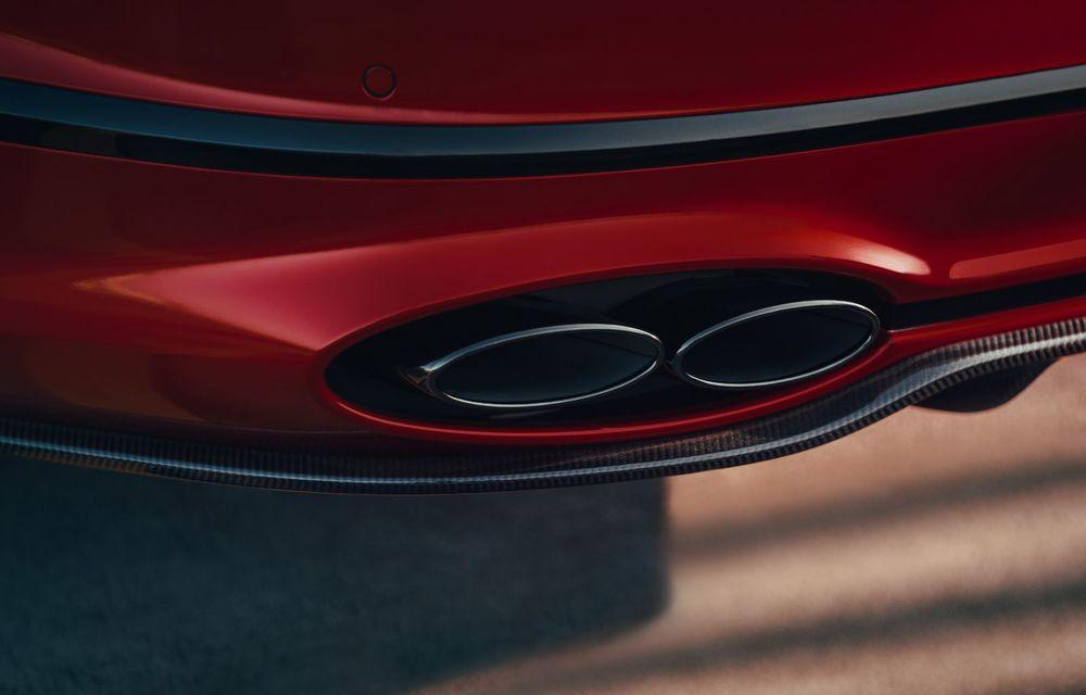 Motorizare nouă pentru Bentley Flying Spur: V8 de 4.0 litri cu 550 de cai putere și 770 Nm - Poza 9