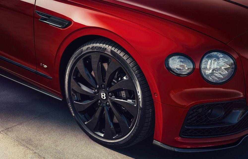 Motorizare nouă pentru Bentley Flying Spur: V8 de 4.0 litri cu 550 de cai putere și 770 Nm - Poza 11