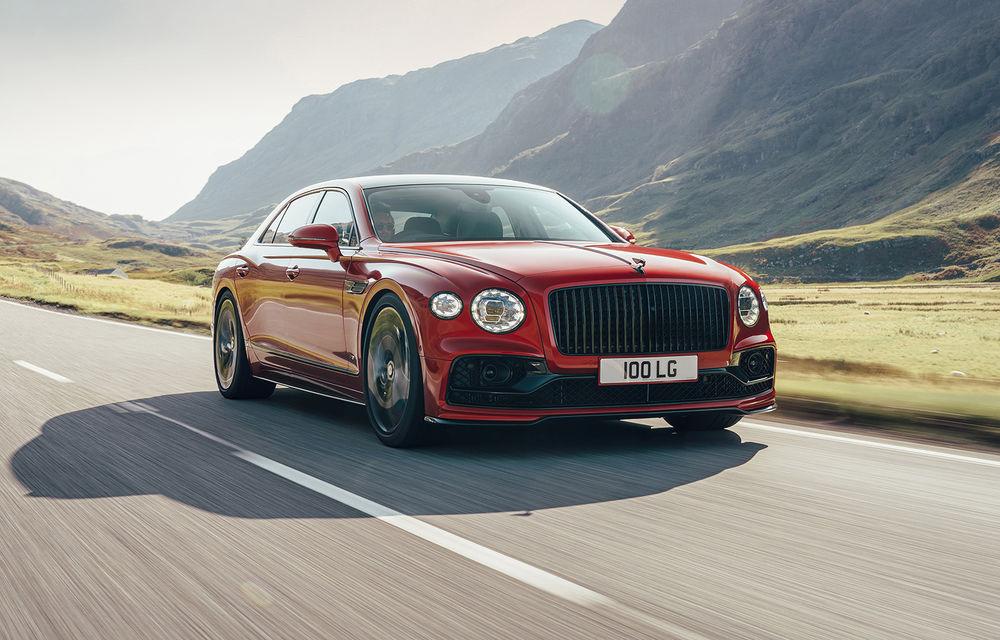 Motorizare nouă pentru Bentley Flying Spur: V8 de 4.0 litri cu 550 de cai putere și 770 Nm - Poza 1