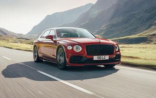 Motorizare nouă pentru Bentley Flying Spur: V8 de 4.0 litri cu 550 de cai putere și 770 Nm