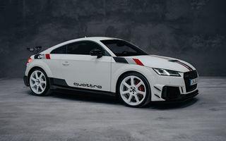 Audi lansează ediția aniversară TT RS 40 years of quattro: versiunea destinată exclusiv pieței din Germania va fi produsă în 40 de unități