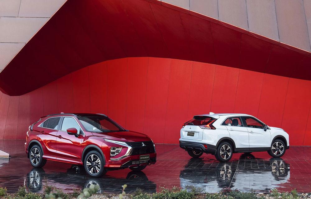 Mitsubishi Eclipse Cross primește un facelift și versiune plug-in hybrid: SUV-ul va fi disponibil în România din 2021 - Poza 1