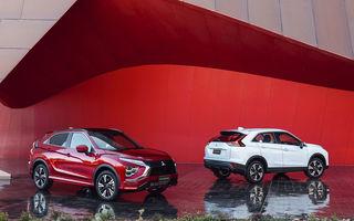 Mitsubishi Eclipse Cross primește un facelift și versiune plug-in hybrid: SUV-ul va fi disponibil în România din 2021