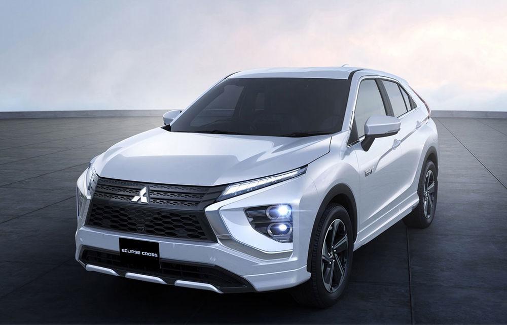 Mitsubishi Eclipse Cross primește un facelift și versiune plug-in hybrid: SUV-ul va fi disponibil în România din 2021 - Poza 2