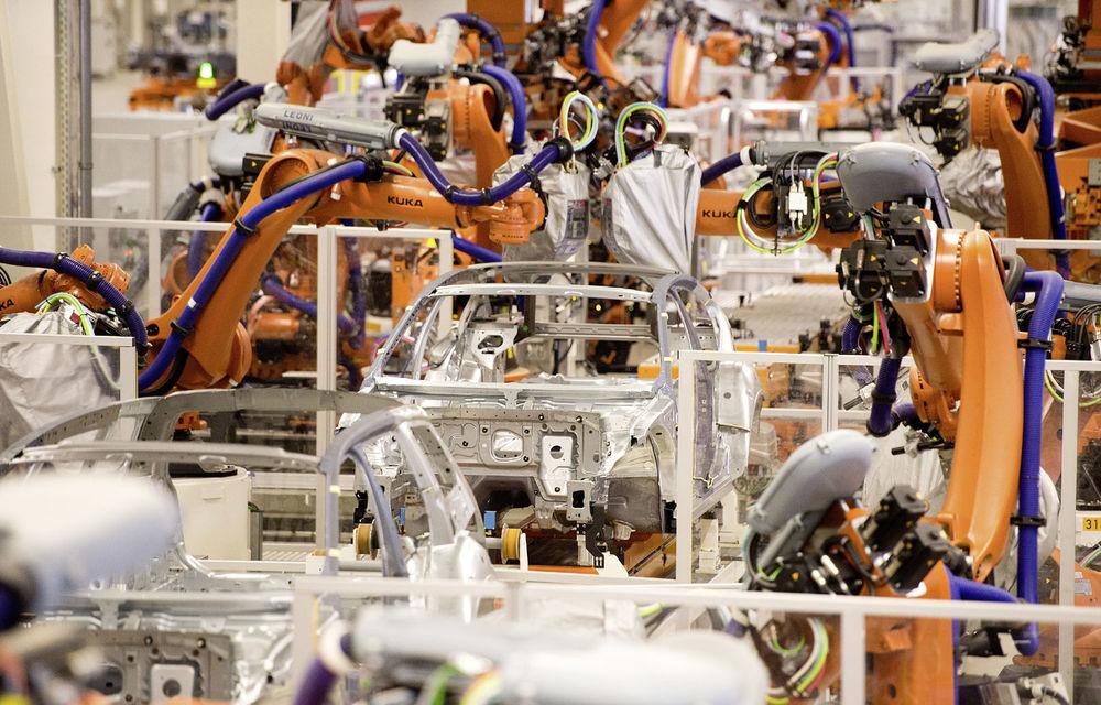 """Grupul VW a comandat peste 2.200 de roboți pentru producția de mașini electrice în trei fabrici: """"Vom avea cele mai performante uzine din industria auto"""" - Poza 2"""