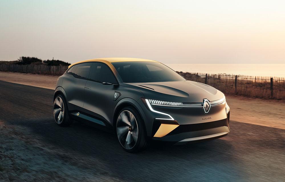 Renault prezintă noul concept electric Megane eVision: 217 CP și autonomie medie mixtă de până la 450 de kilometri - Poza 1