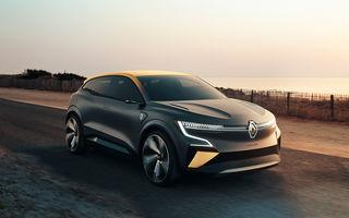 Renault prezintă noul concept electric Megane eVision: 217 CP și autonomie medie mixtă de până la 450 de kilometri