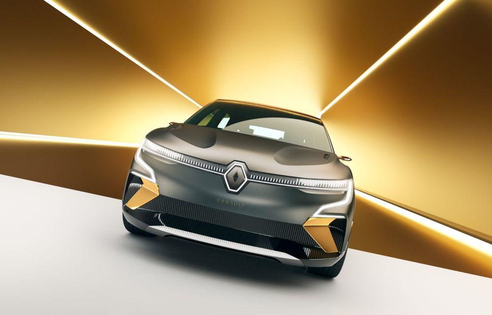 Renault prezintă noul concept electric Megane eVision: 217 CP și autonomie medie mixtă de până la 450 de kilometri - Poza 2