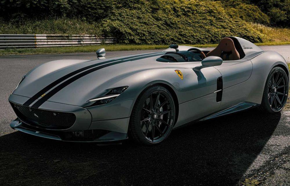 Tratament special pentru Ferrari Monza SP1 din partea tunerului Novitec: sistem nou de evacuare și motor V12 cu 844 CP - Poza 4