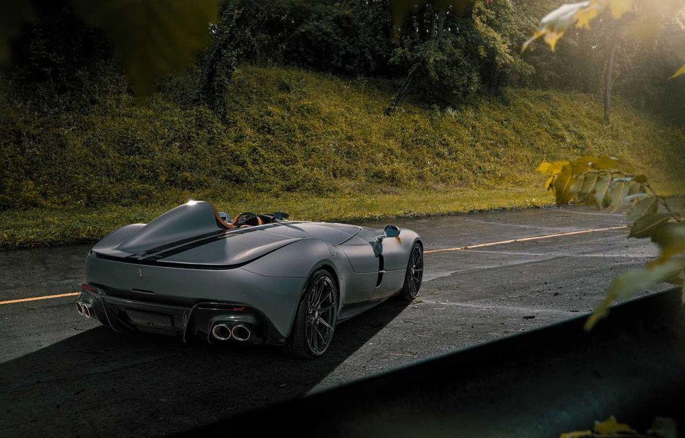 Tratament special pentru Ferrari Monza SP1 din partea tunerului Novitec: sistem nou de evacuare și motor V12 cu 844 CP - Poza 5