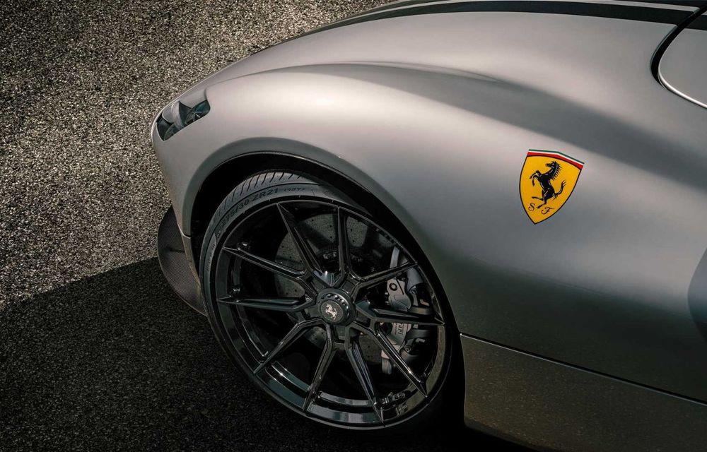 Tratament special pentru Ferrari Monza SP1 din partea tunerului Novitec: sistem nou de evacuare și motor V12 cu 844 CP - Poza 8