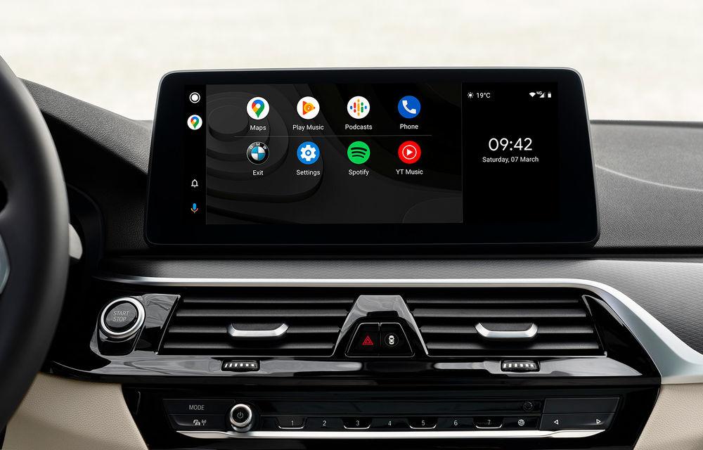 Actualizare over-the-air pentru actuala generație a sistemului de operare BMW: peste 750.000 de vehicule vor primi Android Auto wireless - Poza 1