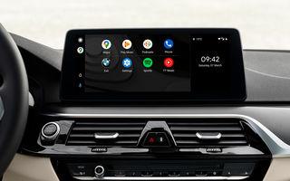 Actualizare over-the-air pentru actuala generație a sistemului de operare BMW: peste 750.000 de vehicule vor primi Android Auto wireless
