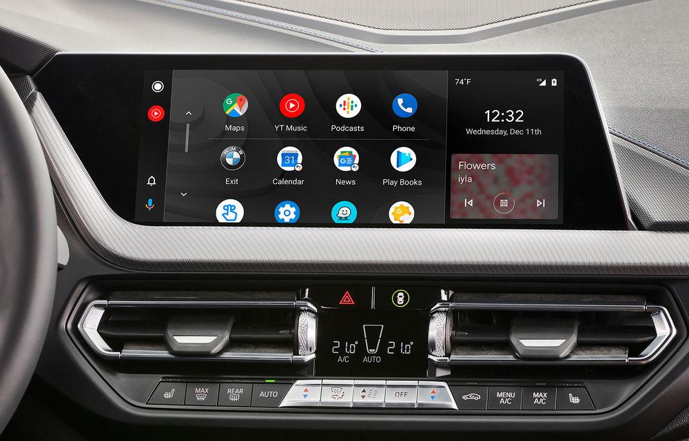 Actualizare over-the-air pentru actuala generație a sistemului de operare BMW: peste 750.000 de vehicule vor primi Android Auto wireless - Poza 14