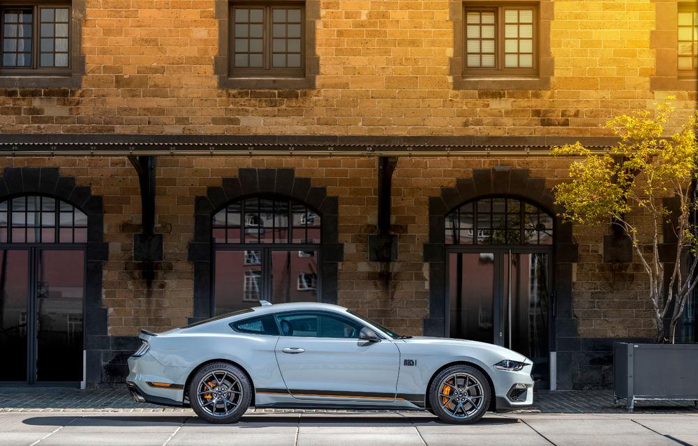Ford Mustang Mach 1 va fi disponibil și în Europa: versiunea limitată are motor V8 de 5.0 litri și 460 de cai putere - Poza 4