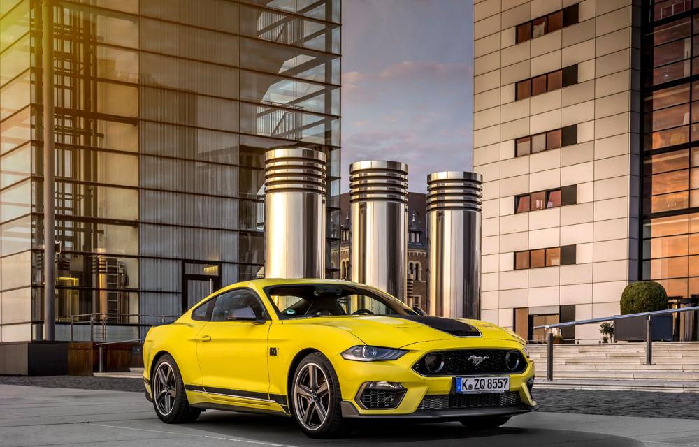 Ford Mustang Mach 1 va fi disponibil și în Europa: versiunea limitată are motor V8 de 5.0 litri și 460 de cai putere - Poza 9
