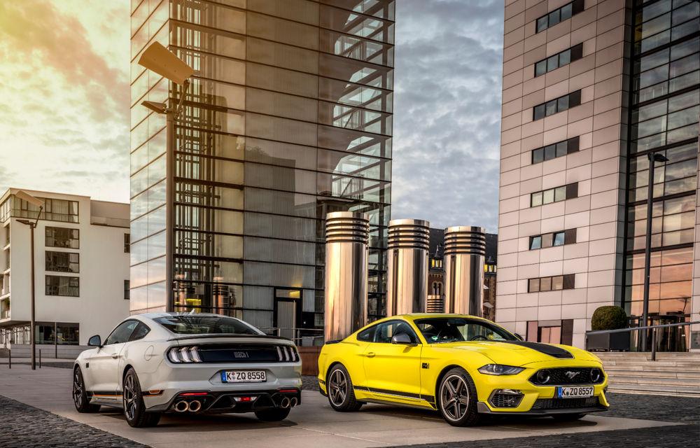 Ford Mustang Mach 1 va fi disponibil și în Europa: versiunea limitată are motor V8 de 5.0 litri și 460 de cai putere - Poza 5