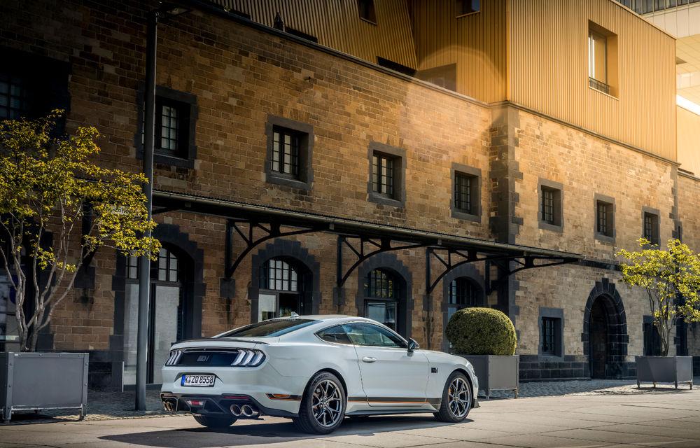 Ford Mustang Mach 1 va fi disponibil și în Europa: versiunea limitată are motor V8 de 5.0 litri și 460 de cai putere - Poza 2