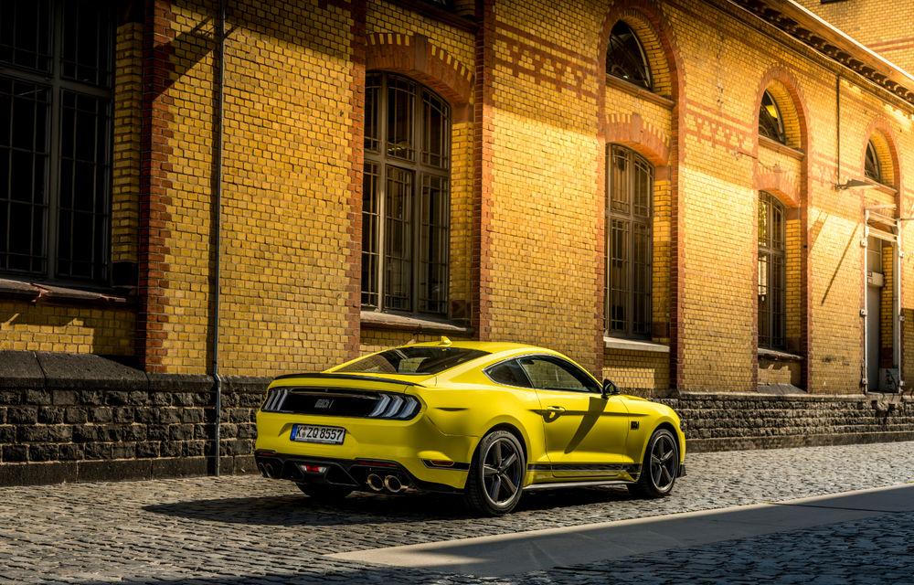 Ford Mustang Mach 1 va fi disponibil și în Europa: versiunea limitată are motor V8 de 5.0 litri și 460 de cai putere - Poza 7