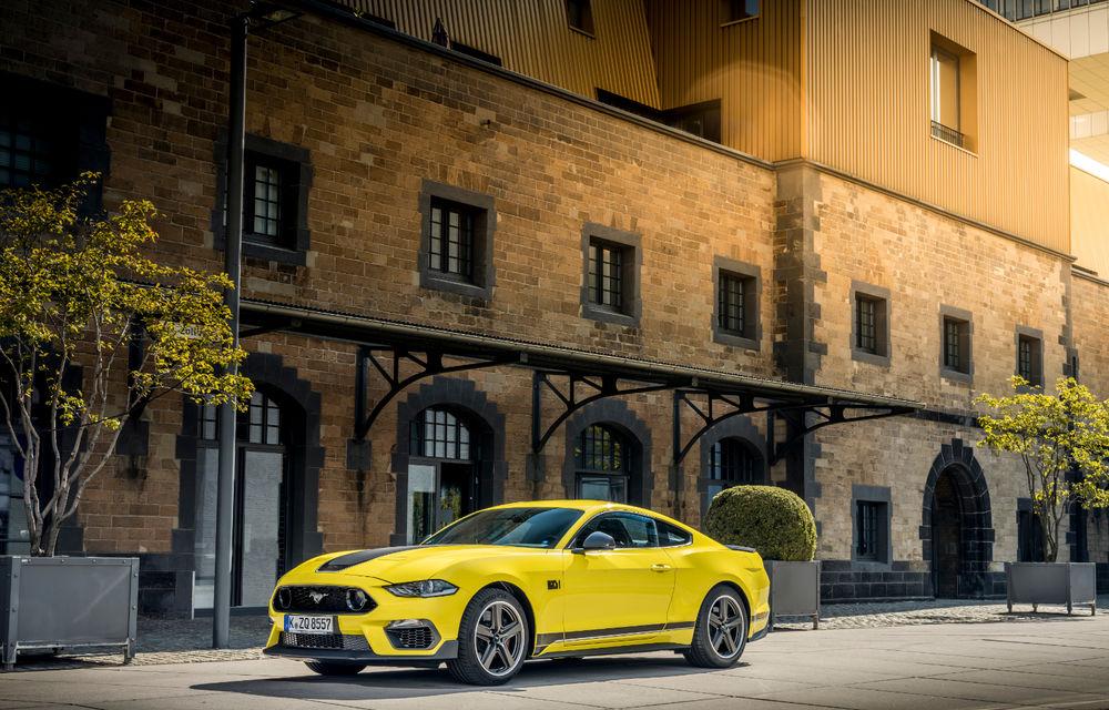 Ford Mustang Mach 1 va fi disponibil și în Europa: versiunea limitată are motor V8 de 5.0 litri și 460 de cai putere - Poza 8
