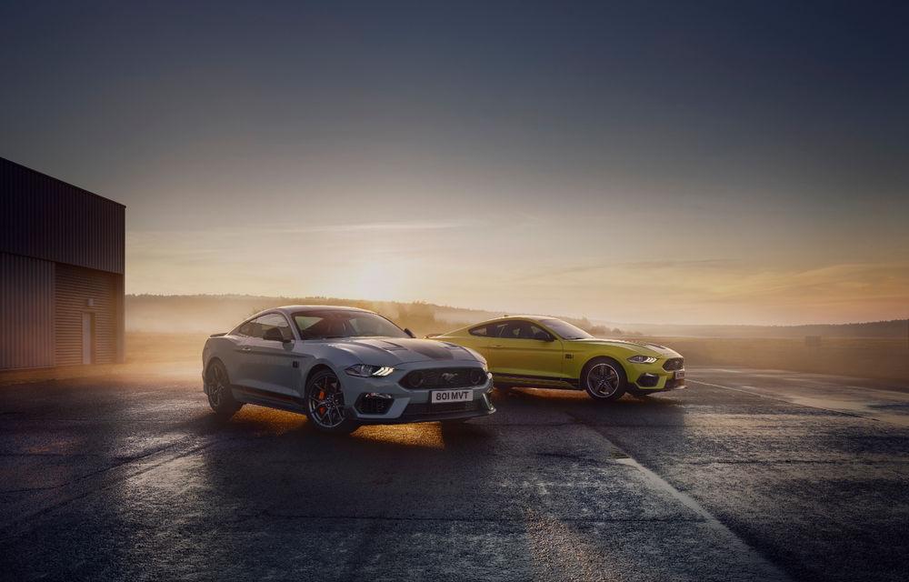 Ford Mustang Mach 1 va fi disponibil și în Europa: versiunea limitată are motor V8 de 5.0 litri și 460 de cai putere - Poza 6