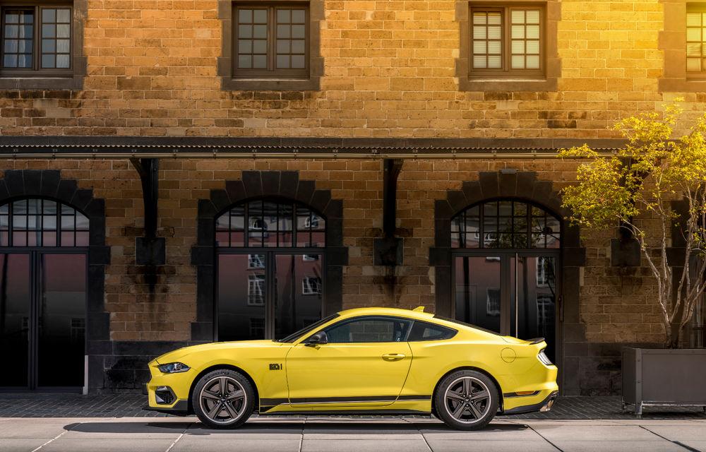 Ford Mustang Mach 1 va fi disponibil și în Europa: versiunea limitată are motor V8 de 5.0 litri și 460 de cai putere - Poza 10