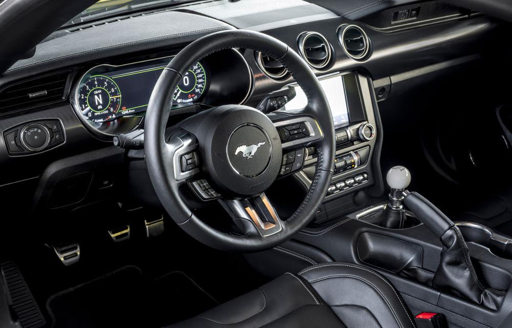 Ford Mustang Mach 1 va fi disponibil și în Europa: versiunea limitată are motor V8 de 5.0 litri și 460 de cai putere - Poza 20