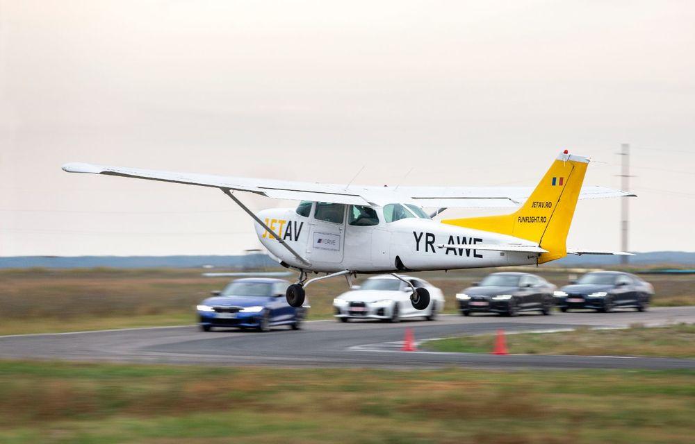 În tandem pe circuit: prim contact cu BMW Seria 4 și zbor cu Cessna 172RG Cutlass RG - Poza 81