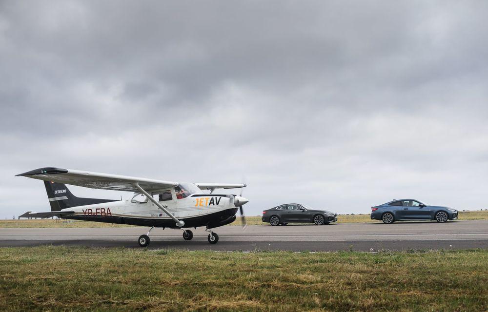 În tandem pe circuit: prim contact cu BMW Seria 4 și zbor cu Cessna 172RG Cutlass RG - Poza 59