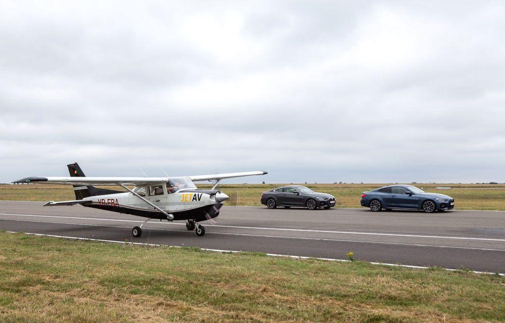 În tandem pe circuit: prim contact cu BMW Seria 4 și zbor cu Cessna 172RG Cutlass RG - Poza 65