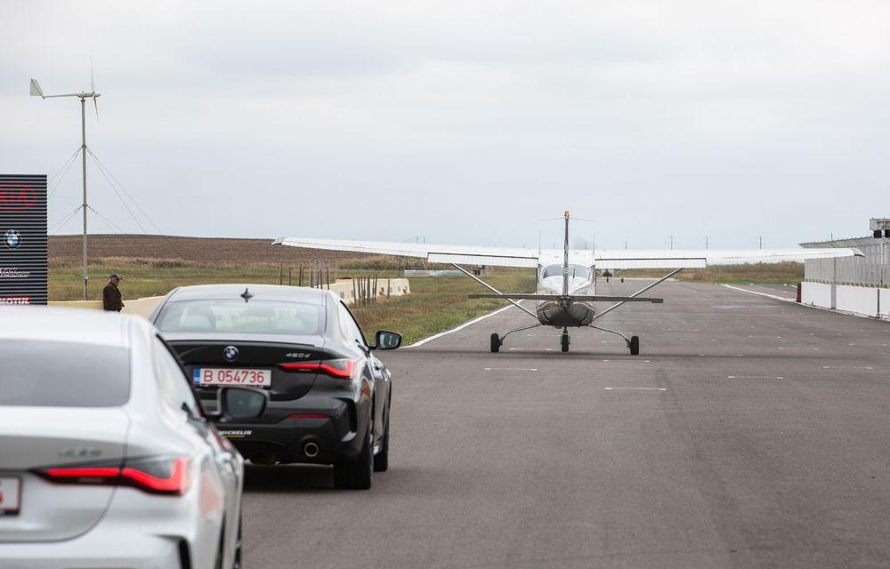 În tandem pe circuit: prim contact cu BMW Seria 4 și zbor cu Cessna 172RG Cutlass RG - Poza 63