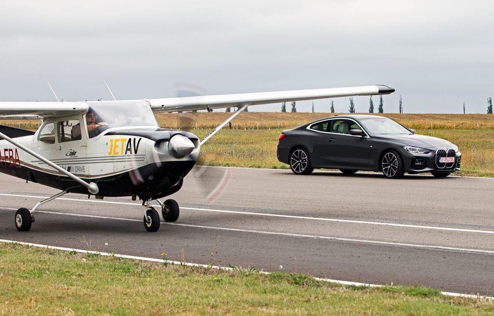 În tandem pe circuit: prim contact cu BMW Seria 4 și zbor cu Cessna 172RG Cutlass RG - Poza 61