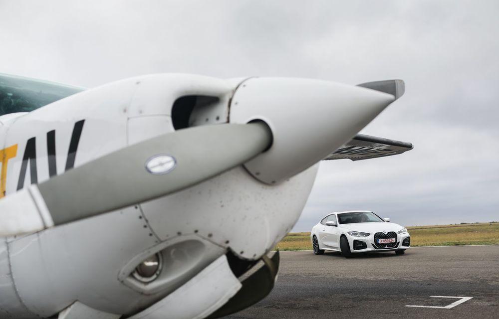 În tandem pe circuit: prim contact cu BMW Seria 4 și zbor cu Cessna 172RG Cutlass RG - Poza 58