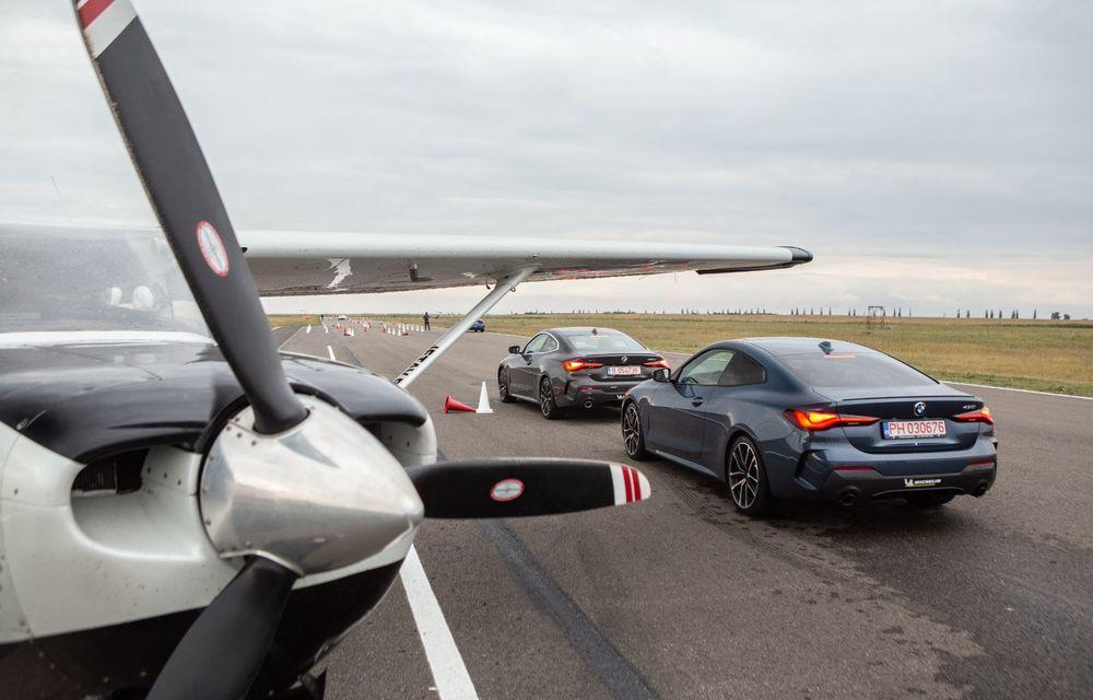 În tandem pe circuit: prim contact cu BMW Seria 4 și zbor cu Cessna 172RG Cutlass RG - Poza 82