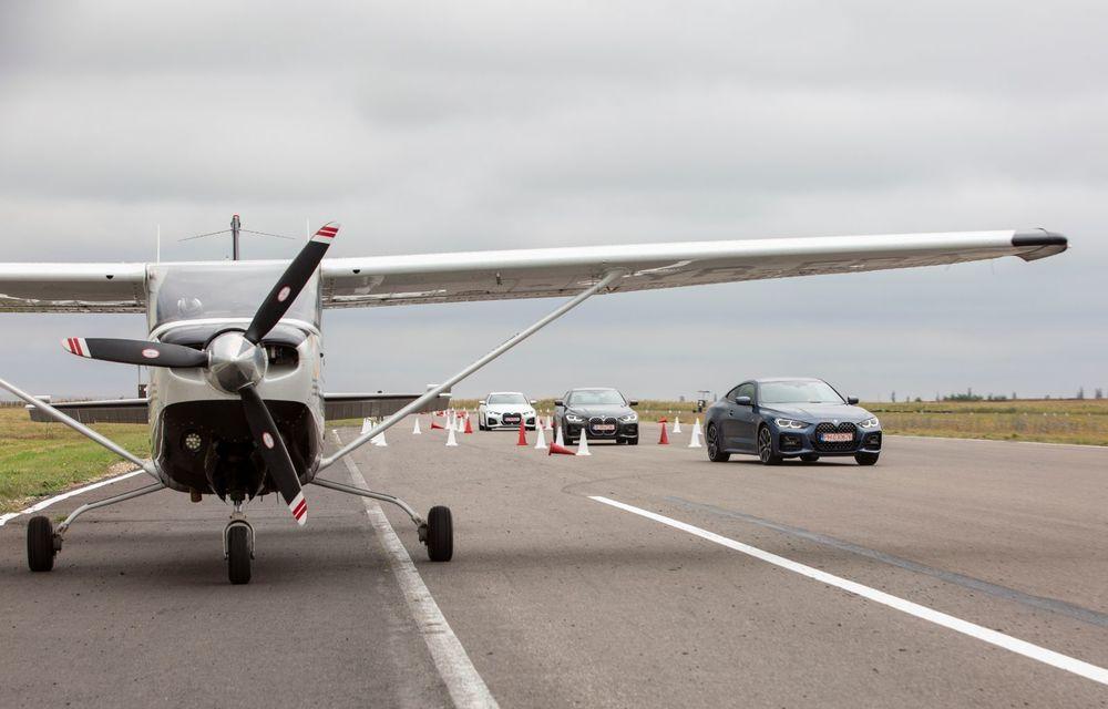 În tandem pe circuit: prim contact cu BMW Seria 4 și zbor cu Cessna 172RG Cutlass RG - Poza 62