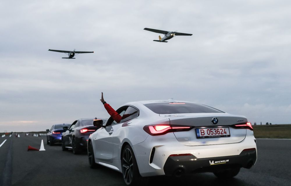În tandem pe circuit: prim contact cu BMW Seria 4 și zbor cu Cessna 172RG Cutlass RG - Poza 85