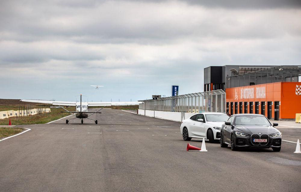 În tandem pe circuit: prim contact cu BMW Seria 4 și zbor cu Cessna 172RG Cutlass RG - Poza 64