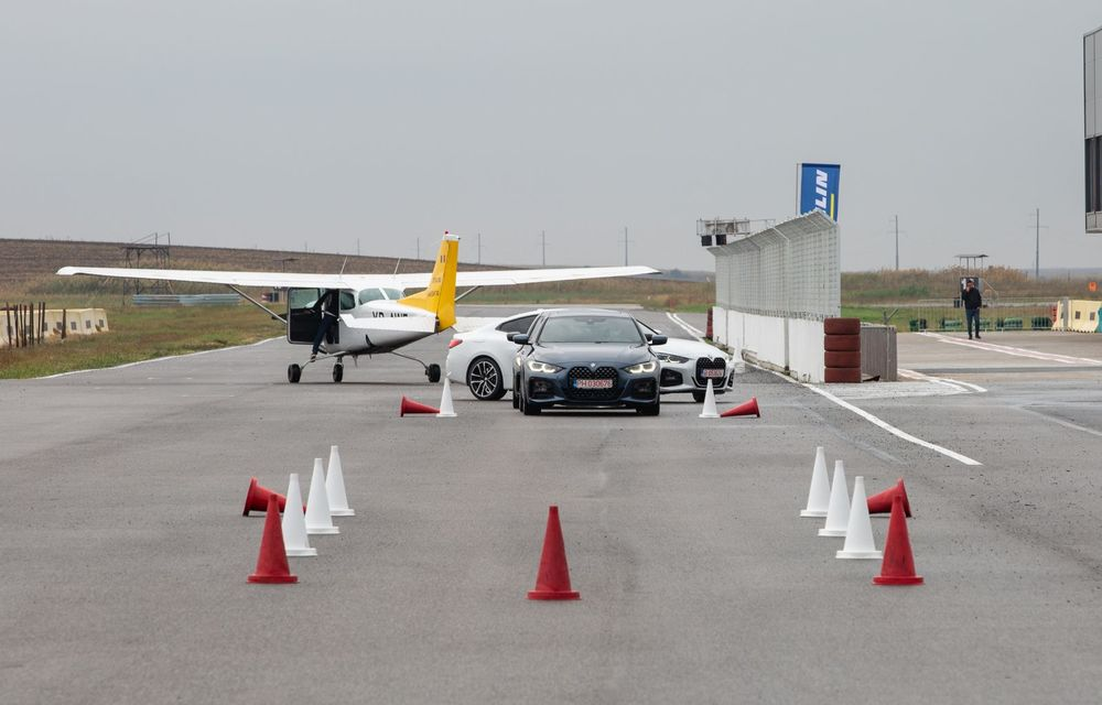 În tandem pe circuit: prim contact cu BMW Seria 4 și zbor cu Cessna 172RG Cutlass RG - Poza 33