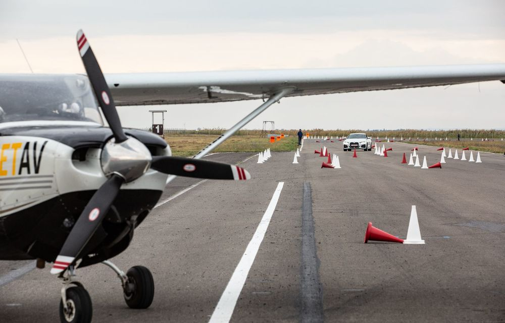 În tandem pe circuit: prim contact cu BMW Seria 4 și zbor cu Cessna 172RG Cutlass RG - Poza 67